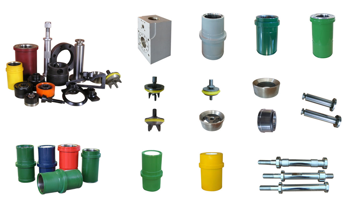 Fluid End Parts for Triplex Mud Pump